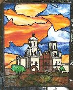Stained Glass - San Xavier Mission